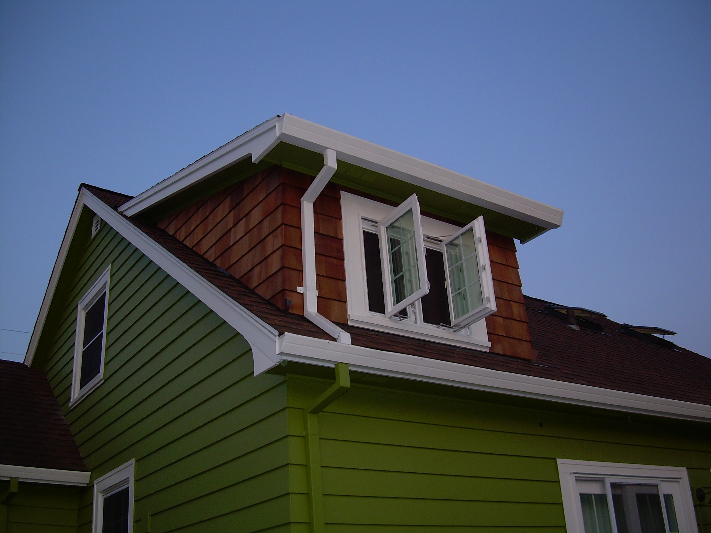 Attic addition created headroom for a staircase into the master suite