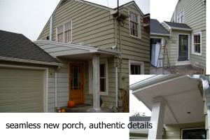 Elaborate porch?  not always