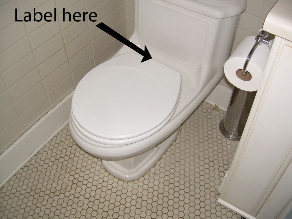 water efficient toilet